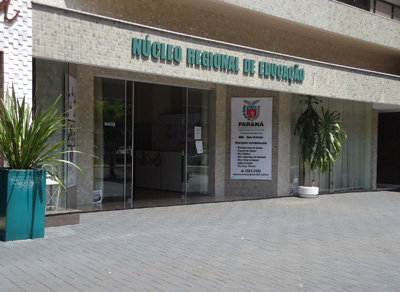 Foto da fachada do N�cleo de Dois Vizinhos
