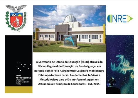 Folder evento astronomia