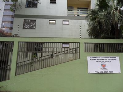 Foto da fachada do núcleo de Foz do Iguaçu