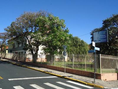 Foto da fachada do n�cleo de Ibaiti
