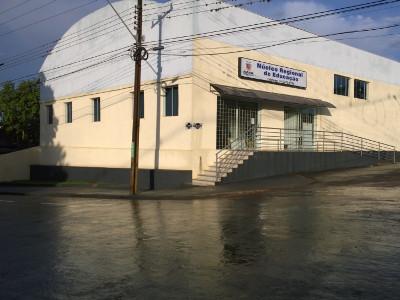 foto da fachada da rua nre ivaiporã