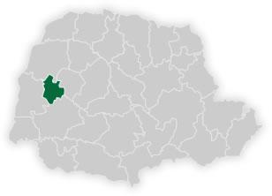mapa do núcleo regional de educação de assis chateaubriand