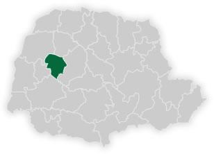 mapa do núcleo regional de educação de goioerê