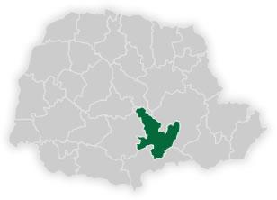 mapa do n�cleo regional de educa��o de irati