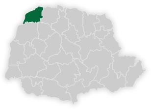 mapa do n�cleo regional de educa��o de loanda