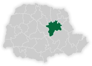 mapa do n�cleo regional de educa��o de tel�maco borba