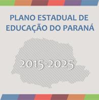 plano estadual de educa��o