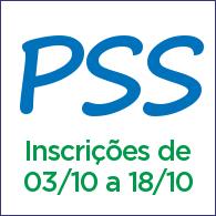 imagem da inscrição para o PSS