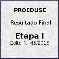 Edital 45 de 2016