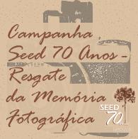 baner da campanha Seed setenta anos resgate da memória fotográfica