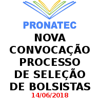 Chamamento Pronatec