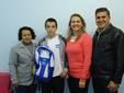 Atleta de Pitanga Participa dos Jogos Escolares da Juventude em Fortaleza