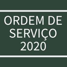 Chamada ordem de serviço 2020