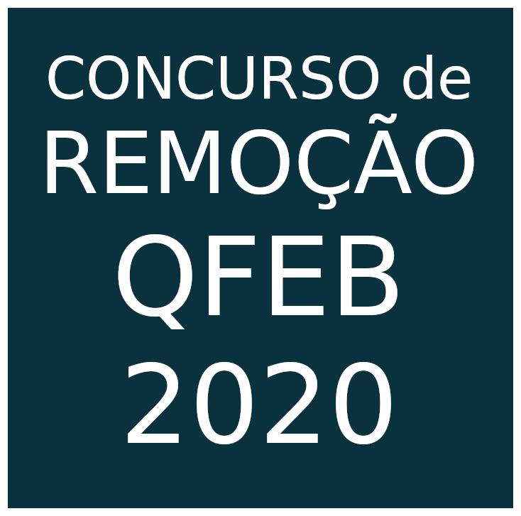 Concurso de remoção QFEB 2020