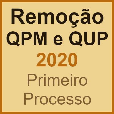Concurso de remoção QPM QUP 2020