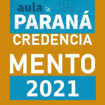 Credenciamento profissionais Aula Paraná 2021