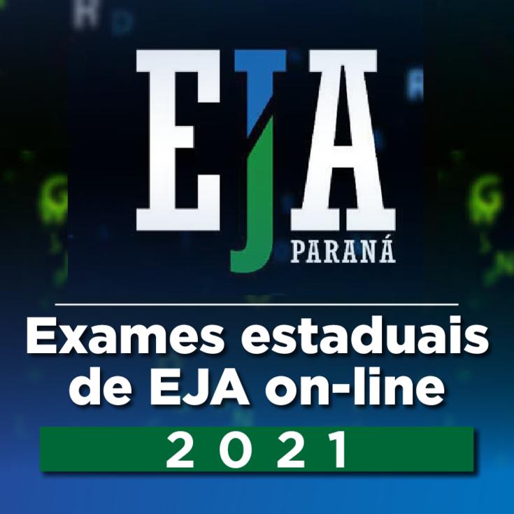 Exames da EJA online 2021